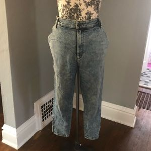 THVM   sold at UO Harem style stone wash jeans 31
